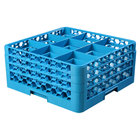 9 Compartment Carlisle Glass Racks and Extenders