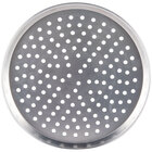 American Metalcraft HADEP10P 10 inch x 1 inch Deep Dish Tapered Perforated Pizza Pan - Heavy Weight Aluminum