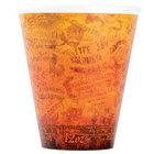 Dart Solo 12U16ESC 12 oz. Fusion Customizable Foam Hot Cup - 1000/Case