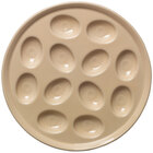 Homer Laughlin 724330 Fiesta Ivory 11 1/4 inch Egg Tray - 4 / Case