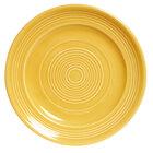 Tuxton Concentrix CSA-074 Saffron 7 1/2 inch China Plate 24/Case