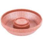 HS Inc. HS1002 10 inch Paprika Polypropylene Chip Server - 24/Case