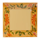 GET ML-91-VN 14 inch x 14 inch Square Venetian Plate