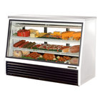 True TSID-72-3 Single Duty Three Door Refrigerated Deli Case - 24 Cu. Ft.