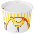 Choice 3.5 lb. Chicken Bucket with Lid - 210/Case