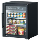 Turbo Air TGF-5SD Black Super Deluxe Countertop Display Freezer with Swing Door - 5.9 cu. ft.
