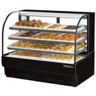 True TCGD-59 59 inch Black Dry Bakery Display Case - 28 Cu. Ft.