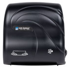 San Jamar T7590TBK Simplicity Oceans Compact Mechanical Hands Free Paper Towel Dispenser - Black Pearl