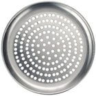 American Metalcraft SPHACTP11 11 inch Super Perforated Heavy Weight Aluminum Coupe Pizza Pan