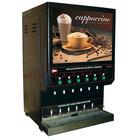 Cecilware GB6M10LD-R/H 6 Flavor Cappuccino Dispenser - 120V