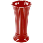 Homer Laughlin 491326 Fiesta Scarlet 9 5/8 inch Medium Vase - 4/Case