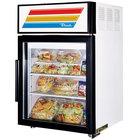 True GDM-5-LD White Countertop Display Refrigerator with Swing Door - 5 cu. ft.