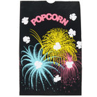 Bagcraft Papercon 300451 7 1/2 inch x 3 1/2 inch x 11 7/10 inch 170 oz. Funburst Design Popcorn Bag - 250/Case
