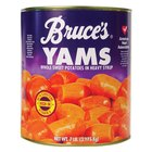Bruce's #10 Can Whole Sweet Potatoes in Heavy Syrup - 6/Case