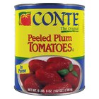 Plum Tomatoes, Whole Peeled in Puree #10 Can