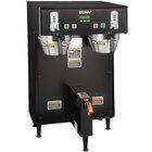 Bunn 34600.0001 BrewWISE Black Dual ThermoFresh DBC Brewer with Funnel Lock - 120/240V