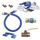 Dormont 16100KIT48PS Deluxe SnapFast® 48 inch Gas Connector Kit with Safety-Set® - 1 inch Diameter