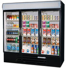 Beverage-Air 3 Section Glass Door Merchandising Refrigerators