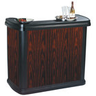 Carlisle 7550094 Cherry Wood Maximizer Portable Bar - 56