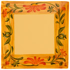GET ML-103-VN Venetian 8 inch Square Plate - 12/Pack