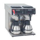 Bunn CWTF Twin-TC Thermal Carafe Coffee Brewer - Automatic - 120/240V (Bunn 23400.0047)