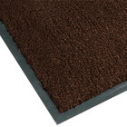 Teknor Apex NoTrax T37 Atlantic Olefin 434-321 4' x 8' Dark Toast Carpet Entrance Floor Mat - 3/8 inch Thick