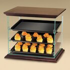 Cal Mil 815-52A 3 Tray Woodland Bakery Display 21 inch x 16 3/4 inch x 18 1/4 inch