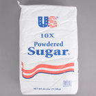 10X Confectioners Sugar - 25 lb.