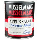 Musselman's Apple Sauce No Sugar Added #10 Can