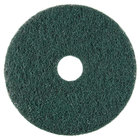 Scrubble by ACS 73-20 20 inch Emerald Hy-Pro Stripping Floor Pad - Type 73