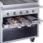 Bakers Pride Charbroiler Smoke Boxes and Smoke Drawers