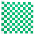 Choice 12 inch x 12 inch Green Check Deli Sandwich Wrap Paper - 1000 / Box