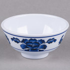 Lotus 9 oz. Round Melamine Rice Bowl - 12/Case