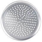 American Metalcraft PHACTP17 17 inch Perforated Heavy Weight Aluminum Coupe Pizza Pan