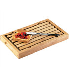 Cal-Mil 823 Bamboo Crumb Catcher Cutting Board - 13 3/4