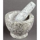 5 inch Granite Mortar and Pestle Set