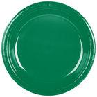 Dart Solo PS15G-0099 10 1/4 inch Green Plastic Plate - 500/Case