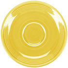 Homer Laughlin 470320 Fiesta Sunflower 5 7/8 inch Saucer - 12/Case
