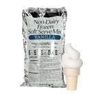 Vanilla Non-Dairy Soft Serve Ice Cream Mix - 6/Case