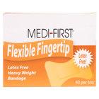 Medique 61578 Medi-First Woven Fingertip Bandage - 40 / Box