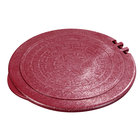 Carlisle 070029 Terra Cotta Hinged Replacement Lid for 0710 7 inch Tortilla Server - 12 / Case