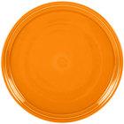 Homer Laughlin 505325 Fiesta Tangerine 15 inch China Pizza / Baking Tray   - 4/Case