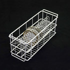 10 Strawberry Street BB20 20 Compartment Catering Plate Rack for 7 inch Bread & Butter Plates - Wash, Store, Transport