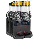 Cecilware FrigoGranita NHT2ULBL 5 Gallon Double Bowl Granita Dispenser with Black Finish