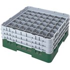 Cambro Full Size 49 Compartment Glass Racks, 11 3/4