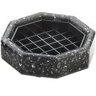 Cal-Mil 310-4-31 4 inch Black Ice Octagonal Drip Tray