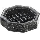 Cal-Mil 310-4-31 4 inch Black Ice Octagonal Drip Tray