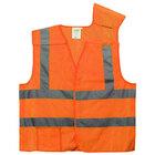 Orange Class 2 High Visibility 5 Point Breakaway Safety Vest - XXL