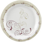 Dart Solo HWP6-J8001 Symphony 6 inch Heavy Weight Paper Plate - 1000 / Case