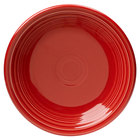 Homer Laughlin 464326 Fiesta Scarlet 7 1/4 inch Salad Plate - 12 / Case